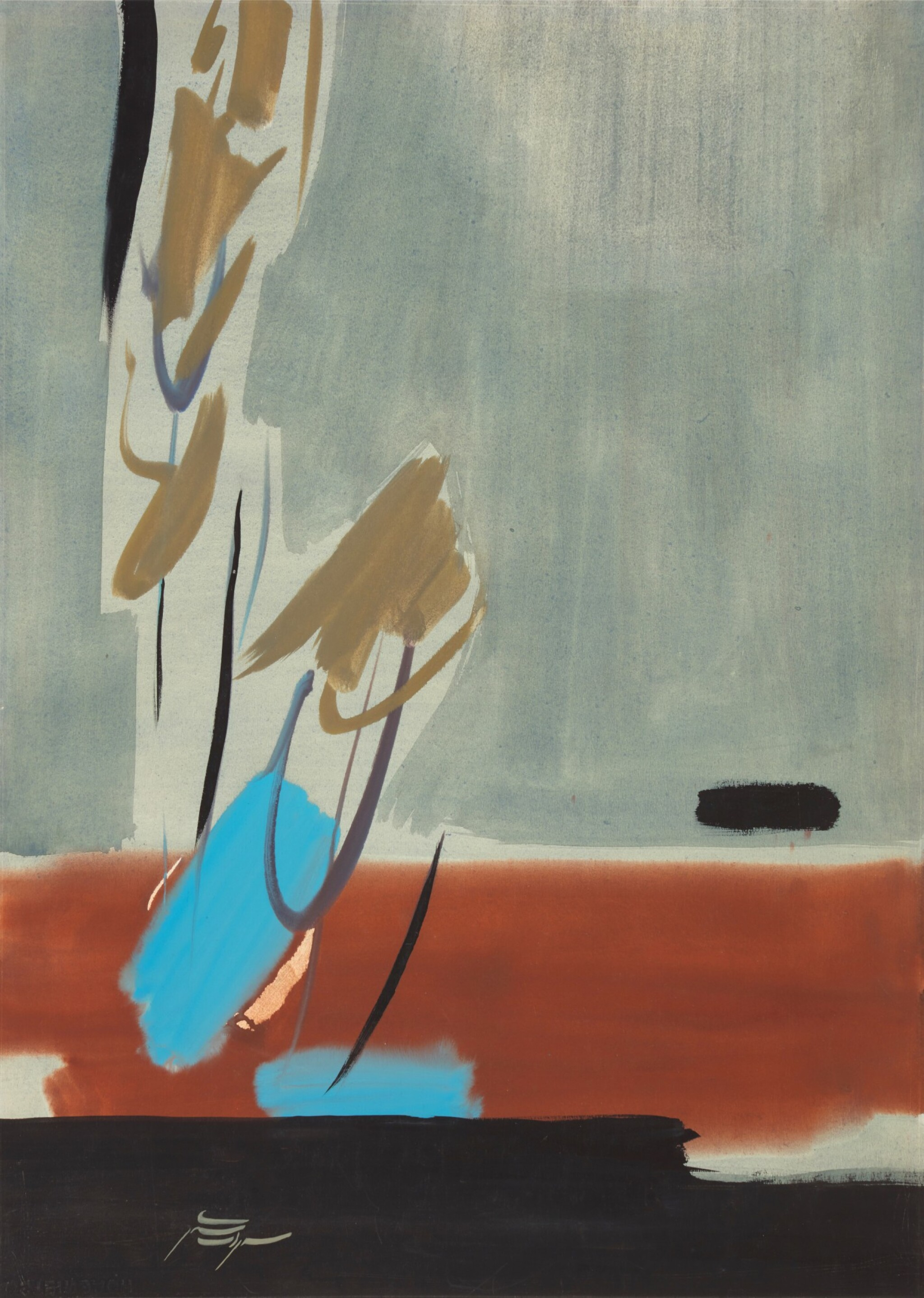 View full screen - View 1 of Lot 48. SOHRAB SEPEHRI | UNTITLED.