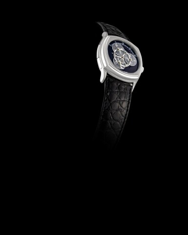 View 4. Thumbnail of Lot 2203. Audemars Piguet | Repetition Minutes, A limited edition platinum minute repeating wristwatch with satellite hour display, Circa 1995 | 愛彼 | Repetition Minutes  限量版鉑金三問腕錶,備衛星時刻顯示,約1995年製.