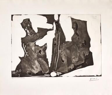 PABLO PICASSO | PEINTRE ET MODÈLE (B. 1440; BA. 1473)