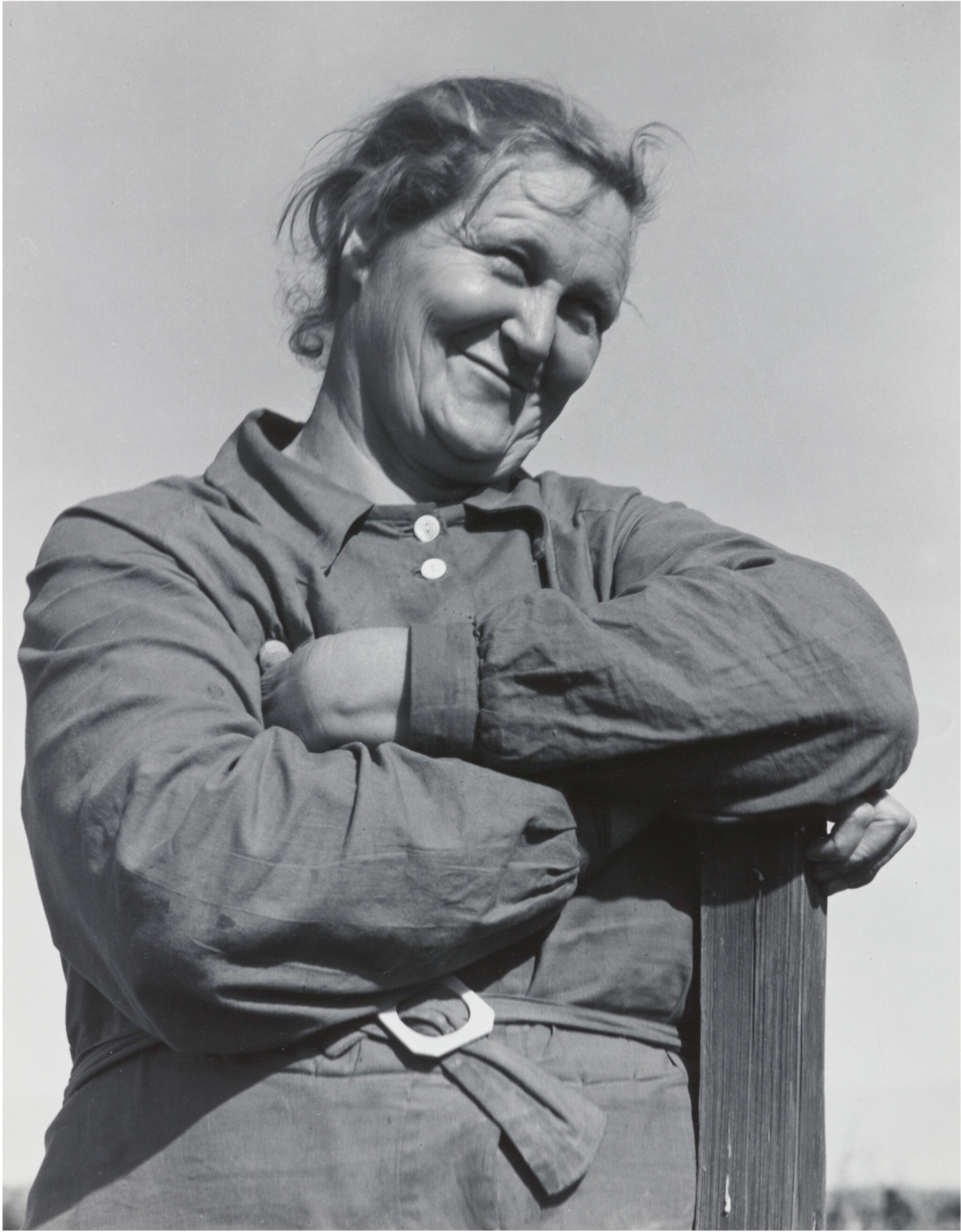 View full screen - View 1 of Lot 66. DOROTHEA LANGE | RURAL REHABILITATION CLIENT, TULARE COUNTY, CALIFORNIA, NOVEMBER 1938.