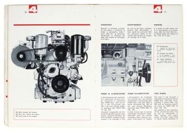 GEORGE HARRISON | Ferrari handbook and Guarantee booklet for Ferrari 275 GTB, dated 1965
