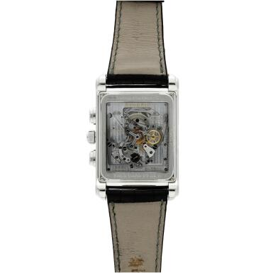 View 6. Thumbnail of Lot 370. Reference 25958PT Edward Piguet Tradition D'excellence Tourbillion  A limited edition platinum tourbillon chronograph wristwatch with dynamograph indication, Circa 2002 .