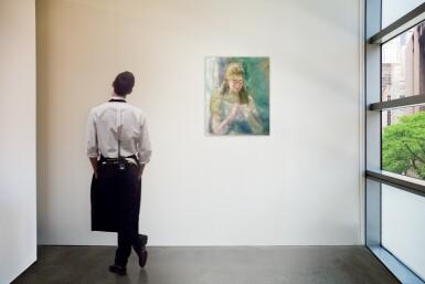 View 4. Thumbnail of Lot 1015. Pierre-Auguste Renoir 皮耶・奧古斯特・雷諾瓦 | La couseuse 縫紉的女子.