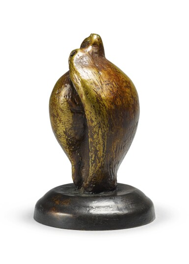 View 3. Thumbnail of Lot 103. HENRY MOORE | SMALL SHELL MOTHER AND CHILD.