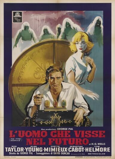 The Time Machine / L'Uomo Che Visse Nel Futuro (1960) poster, Italian