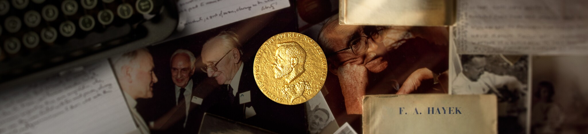 Friedrich von Hayek: His Nobel Prize and Family Collection