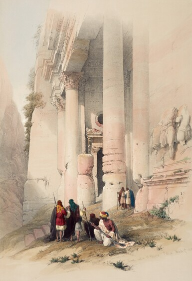 View 3. Thumbnail of Lot 151. ROBERTS | The Holy Land, Syria, Idumea, Arabia, Egypt & Nubia, 1842-1849, subscribers' copy, coloured by hand.