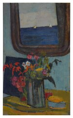 JOSEPH SOLMAN | FLOWERS AND MIRROR