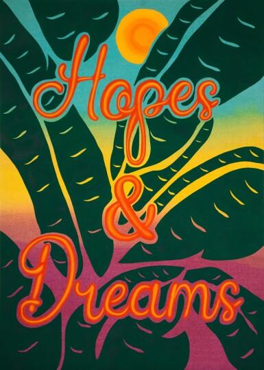 View 1. Thumbnail of Lot 1104. Joel Mesler 喬爾 · 梅斯勒 | Untitled (Hopes and Dreams) 無題(希望與夢想).