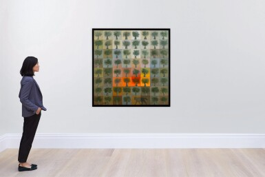 View 4. Thumbnail of Lot 61. SULEIMAN MANSOUR | FIRE IN THE FIELD.