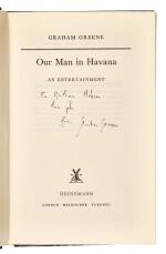 Greene, Our Man in Havana, 1958, inscribed