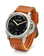 PANERAI | LUMINOR, REFERENCE PAM00127, A LIMITED EDITION STAINLESS STEEL WRISTWATCH, CIRCA 2002