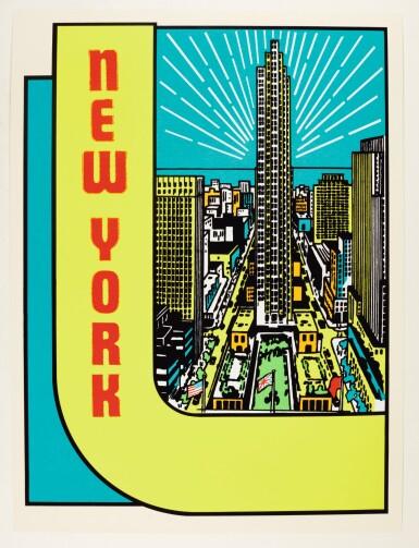 JOE TILSON, R.A. | NEW YORK DECALS 3 & 4