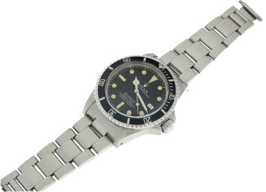 View 6. Thumbnail of Lot 72. ROLEX | REFERENCE 1665 SEA-DWELLER 'GREAT WHITE'   A STAINLESS STEEL AUTOMATIC WRISTWATCH WITH DATE AND BRACELET, CIRCA 1978.