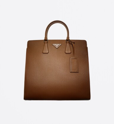 View 1. Thumbnail of Lot 55. PRADA | SAFFIANO LEATHER GALLERIA TOTE BAG.