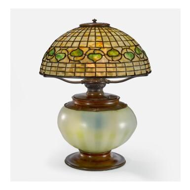 "TIFFANY STUDIOS | ""VINE BORDER"" TABLE LAMP"