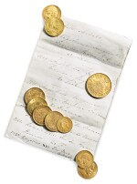 A GROUP OF TEN FRENCH GOLD COINS, 1809-1857