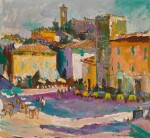 WALTER LANGHAMMER | Untitled (City Square)