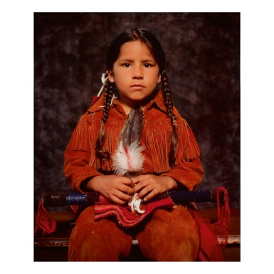 ANDRES SERRANO | 'CLEVELAND INDIANS (STEVEN BUFFALOHEAD, PONCE, ALGONQUIN)'