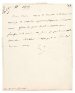 """NAPOLEON I   letter signed, to Marshal Berthier """"Mon Cousin"""", 27 March 1813"""