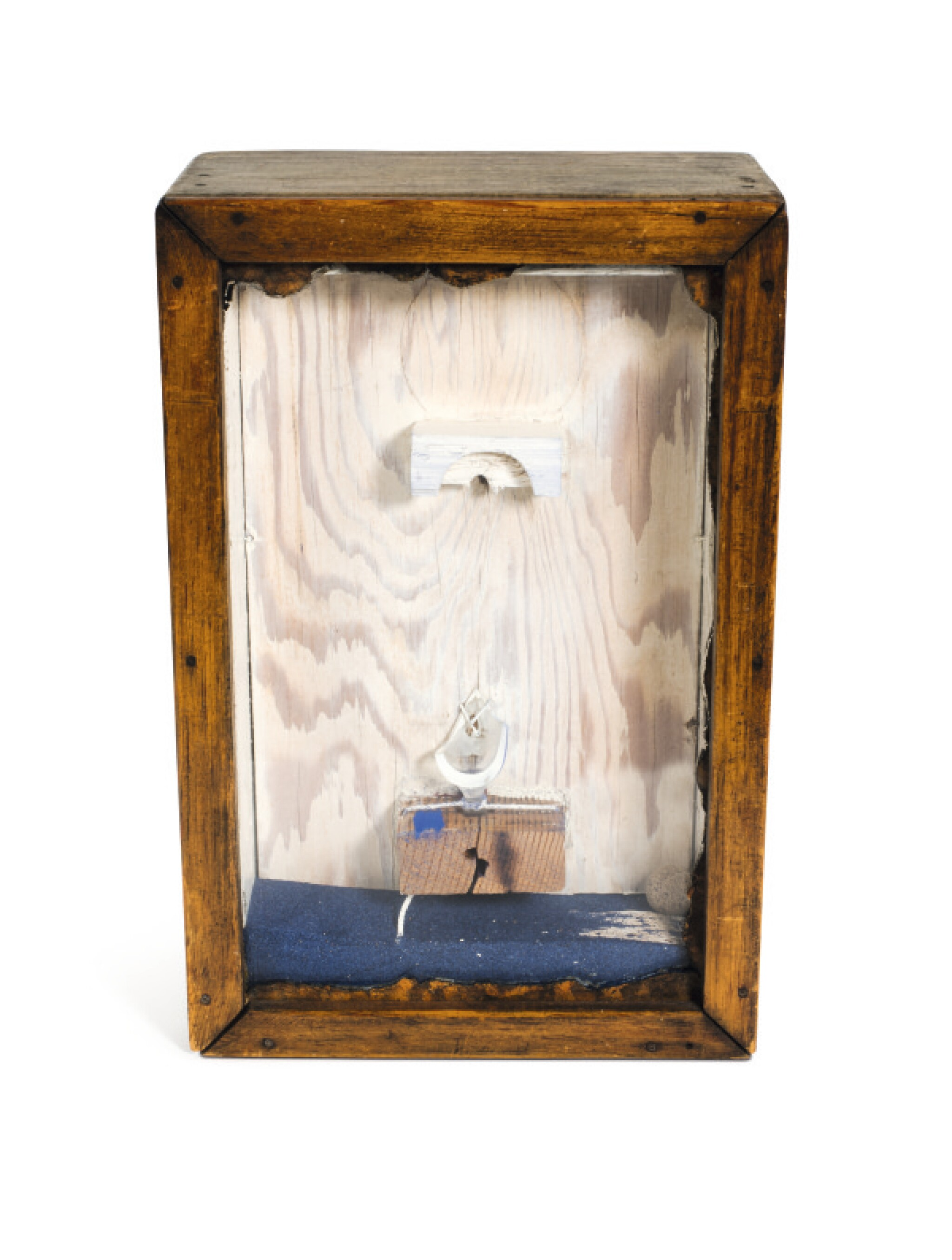 View full screen - View 1 of Lot 17. JOSEPH CORNELL | UNTITLED (BLUE SAND FOUNTAIN).