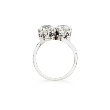 View 3. Thumbnail of Lot 2. BAGUE DIAMANTS | DIAMOND RING.