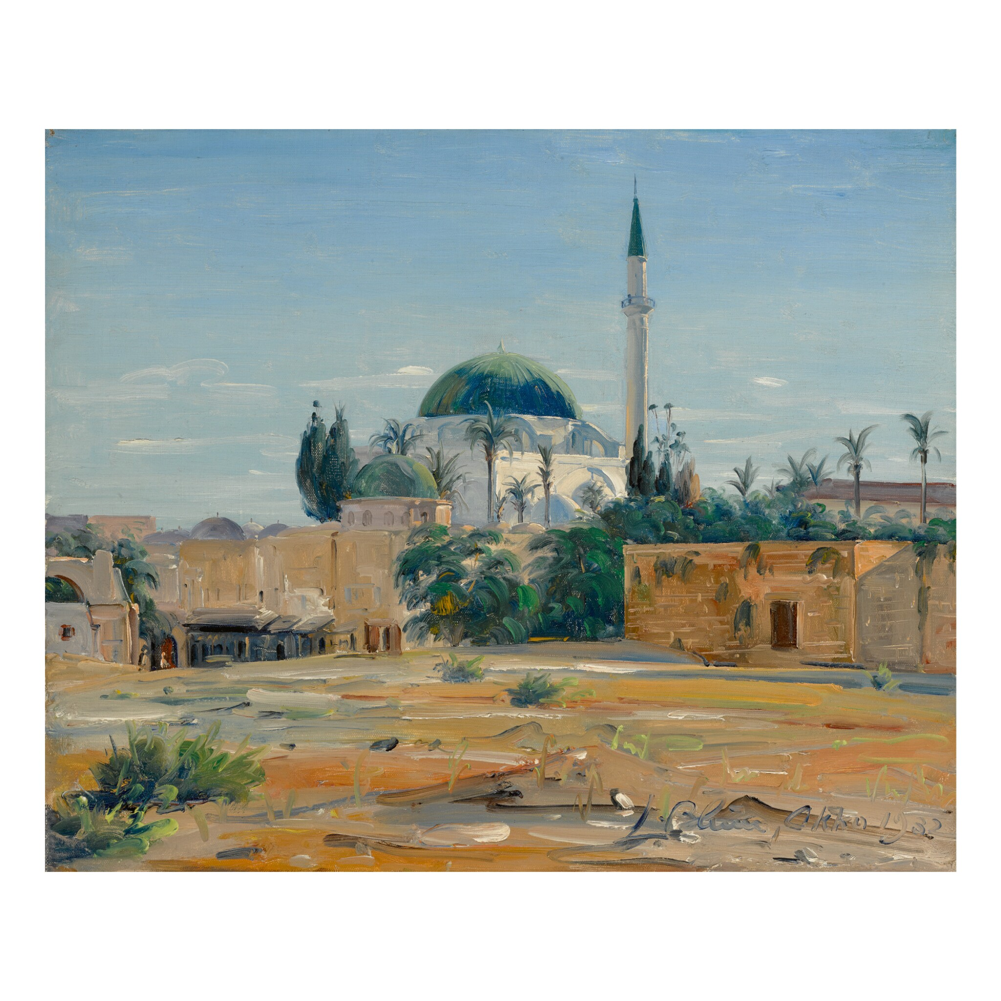 View full screen - View 1 of Lot 12. LUDWIG BLUM | AKKO (ACRE).