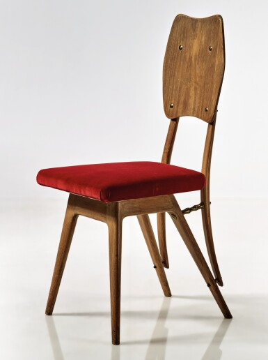 View 1. Thumbnail of Lot 287. CARLO MOLLINO   AN IMPORTANT CHAIR.