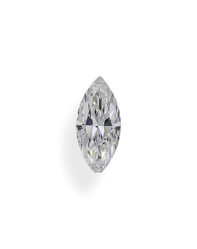 A 1.06 Carat Marquise-Shaped Diamond, D Color, SI1 Clarity