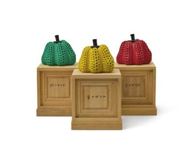 草間彌生  KUSAMA YAYOI | 南瓜(三件一組) PUMPKINS (SET OF THREE)