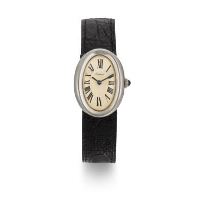 View 1. Thumbnail of Lot 41. BRIAN EPSTEIN | Cartier wristwatch, 1966.
