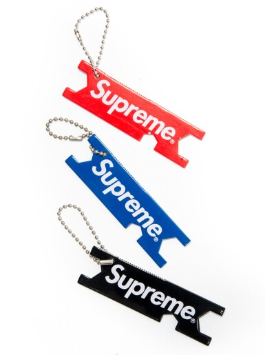 View 8. Thumbnail of Lot 43. A GROUP OF 18 SUPREME SKATEBOARDING ACCESSORIES.