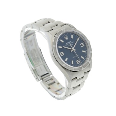 View 3. Thumbnail of Lot 274. REFERENCE 14010 AIR KING A STAINLESS STEEL AUTOMATIC WRISTWATCH WITH BRACELET, CIRCA 2006.