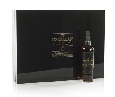 View 6. Thumbnail of Lot 7. The Macallan Mario Testino Masters Of Photography, Six Pillars, Full Collection (4 bts 70cl & 24 bts 5cl).