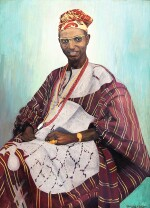 AKINOLA LASEKAN | PORTRAIT OF CHIEF J.D. AKEREDOLU