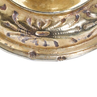 View 3. Thumbnail of Lot 8. A German silver-gilt wine cup, Theodor or Tobias Riederer, Augsburg, circa 1614-1616.