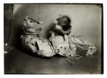 Herbert Ponting   Three original photographs of ski shoes, published in 'Scott's Last Expedition', 1913
