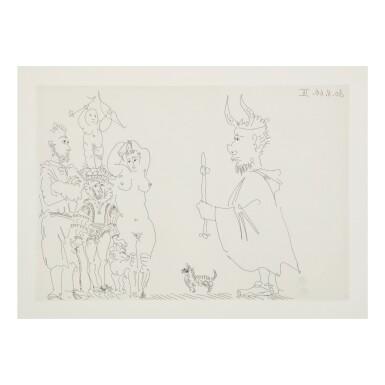 View 3. Thumbnail of Lot 169. PABLO PICASSO | LE COCU MAGNIFIQUE (B. 1244-1255; BA. 1432-1443; C. BKS 140).