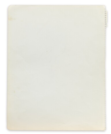 View 3. Thumbnail of Lot 33. Portrait de David Hockney en buste.