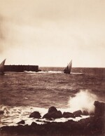 'La Vague Brisée, Mer Méditeranée No 15', (The Breaking Wave), 1857