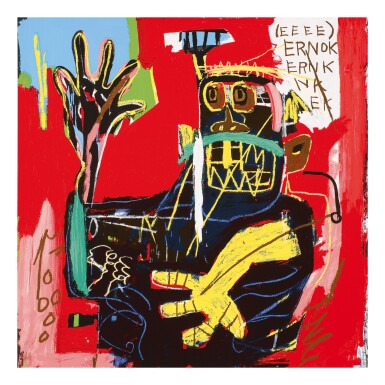 View 4. Thumbnail of Lot 58. AFTER JEAN-MICHEL BASQUIAT | UNTITLED (HEAD; PER CAPITA; ERNOK; AND RINSO).