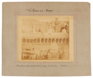 View 4. Thumbnail of Lot 103. Mecca-after Muhammad Sadiq Bey | A collection of seven photographs of Mecca, circa 1880s.