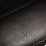 HERMÈS | BLACK BIRKIN 40CM OF SHINY POROSUS CROCODILE WITH PALLADIUM HARDWARE