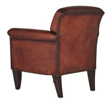 View 12. Thumbnail of Lot 3. Berluti   Cigar Box, Cigar Case, Club Chairs and Cyrus Slippers (Boîte à Cigares, Étui à Cigares, Fauteuils Club et Slipper Cyrus ) [5 Items / Articles].
