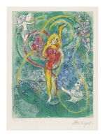 MARC CHAGALL | THE CIRCUS: ONE PLATE (M. 492; SEE C. BKS. 68)