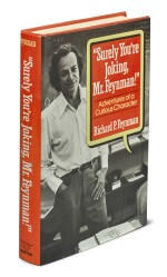 "FEYNMAN, RICHARD P. | ""SURELY YOU'RE JOKING MR. FEYNMAN"". FIRST EDITION, SIGNED BY FEYNMAN."