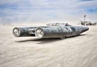 View 1. Thumbnail of Lot 1. Rocket Car by David Best.