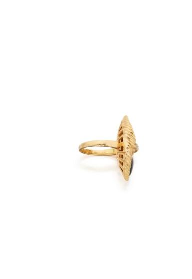 CORAL, ONYX AND DIAMOND RING, VAN CLEEF & ARPELS, FRANCE