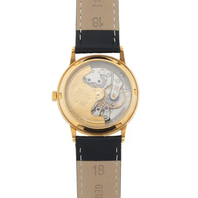 View 4. Thumbnail of Lot 84. Ref. 3561 Yellow gold wristwatch Made in 1968 | 百達翡麗 3561型號黃金腕錶,1968年製.