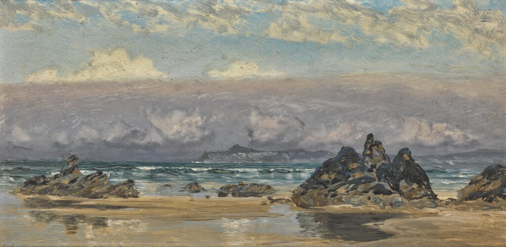 JOHN BRETT, A.R.A. | NEWQUAY, CORNWALL